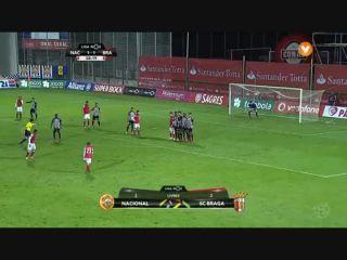 Nacional 2-3 Sporting Braga - Golo de Pedro Santos (59min)
