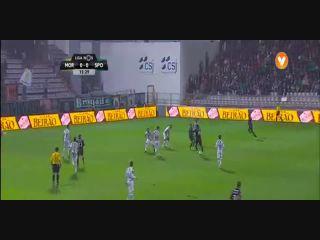 Moreirense 0-1 Sporting CP - Golo de I. Slimani (16min)