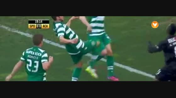 18J :: Sporting - 1 x Académica - 0 de 2014/2015