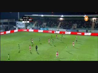 Tondela 0-1 Braga - Gól de N. Stojiljković (78min)
