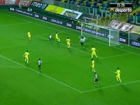 01J :: Paços de Ferreira - 1 x Sporting - 0 de 2010/2011