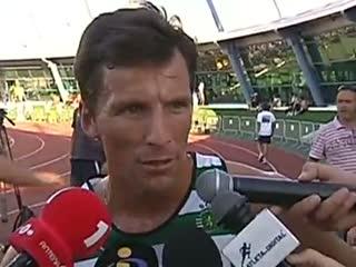 Atletismo :: Rui Silva, vencedor dos 3000m na Taça dos Campeões em Pista, disputado em 2010