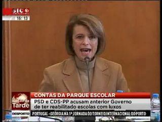 Duarte Marques acusa Governo socialista de ter feito obras luxuosas nas escolas