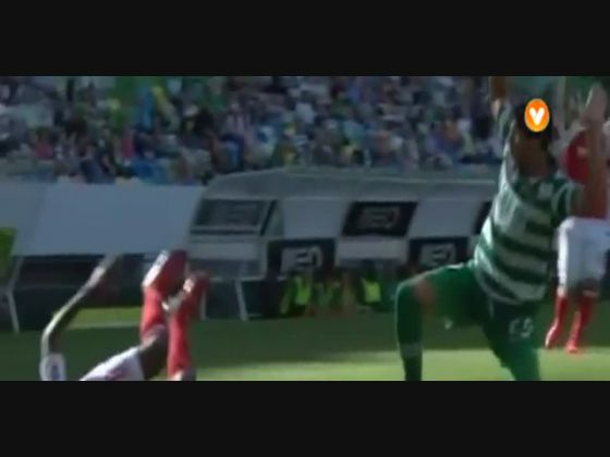 33J :: Sporting - 4 x Braga - 1 de 2014/2015