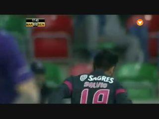 Marítimo 0-4 Benfica - Gól de E. Salvio (18min)