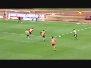 União Madeira 3-4 Paços de Ferreira - Golo de Élio Martins (18min)