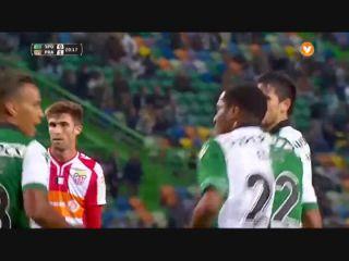 Sporting CP 5-1 Praiense - Golo de Paulo Oliveira (20min)