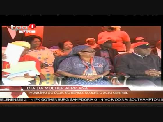 Município do Úcua, no Bengo acolhe o acto central do dia da Mulher Africana