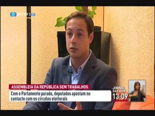 Simão Ribeiro critica atraso dos trabalhos parlamentares