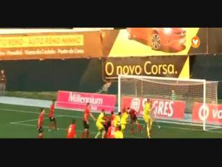 Paços de Ferreira 2-1 Penafiel - Golo de Cicero (88min)