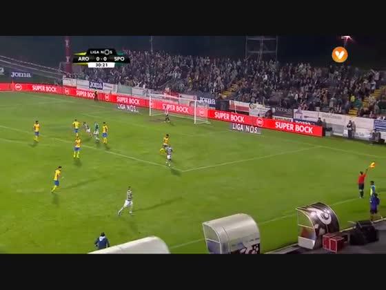 10J :: Arouca - 0 x Sporting - 1 de 2015/2016