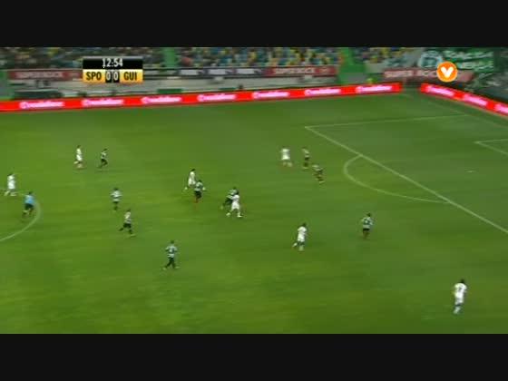 25J :: Sporting - 1 x V. Guimarães - 0 de 2013/2014