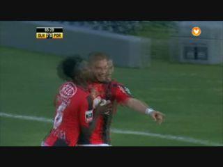 Olhanense 2-1 Porto - Golo de F. Dionisi (66min)