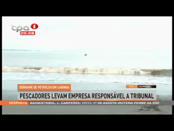 Derrame de petróleo afecta pescadores de Cabinda