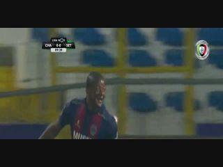 Chaves 2-2 Vitória Setúbal - Golo de Willian (10min)