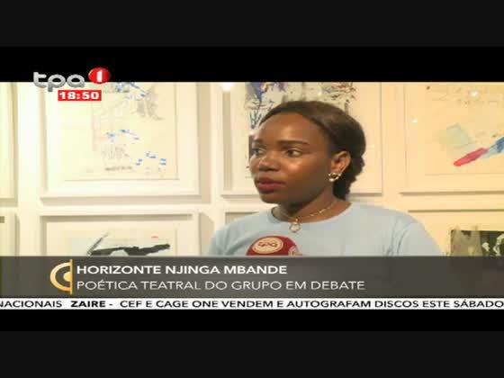 Horizonte Njinga Mbande - Poética teatral do grupo em debate