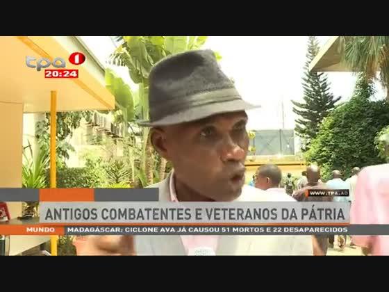 Antigos combatentes e veteranos da pátria