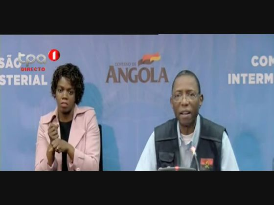 Angola regista mais dois casos positivos e mais um recuperado