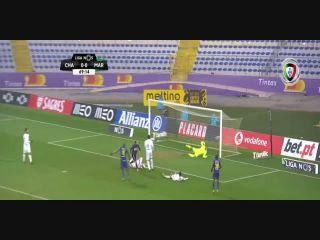 Chaves 1-0 Marítimo - Golo de R. Bressan (69min)