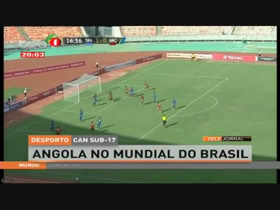 Angola no mundial do Brasil em sub-17